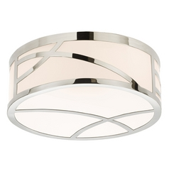 Sonneman Lighting Haiku Polished Nickel LED Flushmount Light