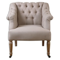 Uttermost Khaldun Tufted Armchair