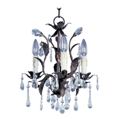 Maxim Lighting International Mini-Chandelier in Oil Rubbed Bronze Finish 8832OI