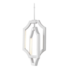 Feiss Lighting Audrie Hi Gloss Grey LED Mini-Pendant Light