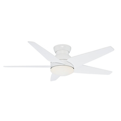 Casablanca Fan Isotope Snow White Ceiling Fan with Light