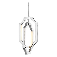Feiss Lighting Audrie Polished Nickel LED Mini-Pendant Light