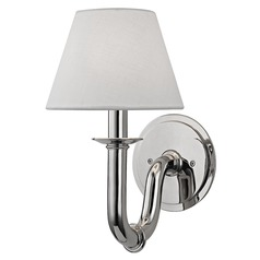 Dundee 1 Light Sconce - Polished Nickel
