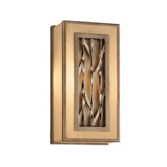 Troy Lighting Sconce Wall Light with Beige / Cream Shade BF3151