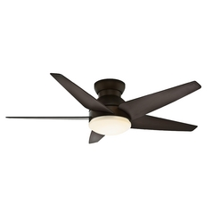 Casablanca Fan Isotope Brushed Cocoa Ceiling Fan with Light