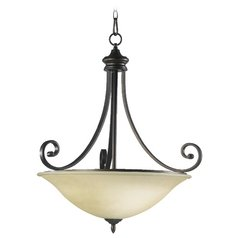 Quorum Lighting Bryant Oiled Bronze Pendant Light
