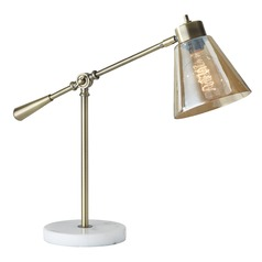 Adesso Home Sienna Antique Brass Task / Reading Lamp
