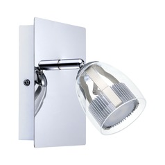 Eglo Pecero Chrome LED Sconce