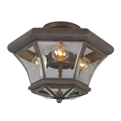 Livex Lighting Monterey Bronze Semi-Flushmount Light