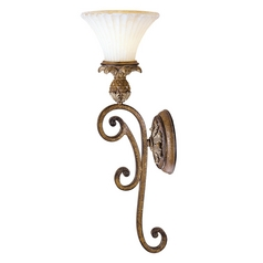 Livex Lighting Savannah Venetian Patina Sconce