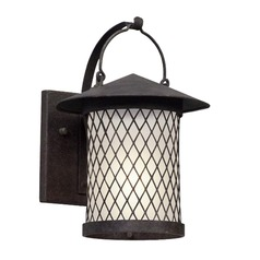 Troy Lighting Altamont French Iron LED Outdoor Wall Light