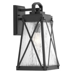 Progress Lighting Creighton Black Outdoor Wall Light