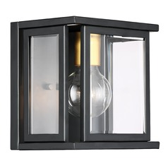 Nuvo Lighting Payne Black Sconce