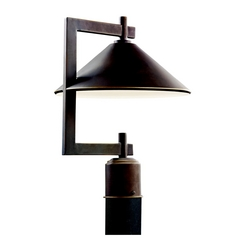 Kichler Post Light in Olde Bronze Finish