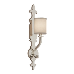 Corbett Lighting Esquire Polished Nickel Sconce