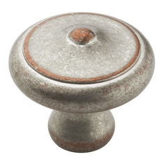 Galleria Hardware Weathered Nickel Copper Cabinet Knob BP24019-WNC