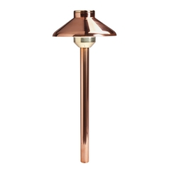 Kichler Lighting Kichler Lighting Landscape LED Copper LED Path Light 15820CO27