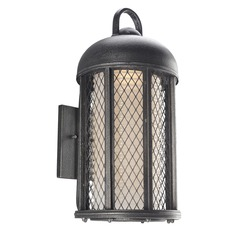 Troy Lighting Signal Hill Aged Silver Outdoor Wall Light