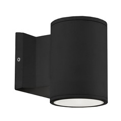 Modern Black LED Outdoor Wall Light 3000K 780LM
