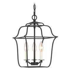 Quoizel Lighting Gallery Royal Ebony Mini-Pendant Light