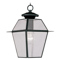 Livex Lighting Westover Black Outdoor Hanging Light