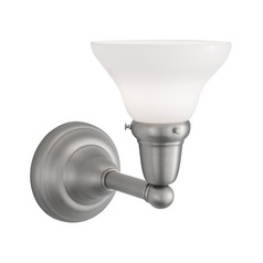 Norwell Lighting Coventry Brush Nickel Sconce