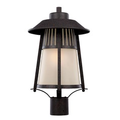 Sea Gull Lighting Hamilton Heights Oxford Bronze Post Light