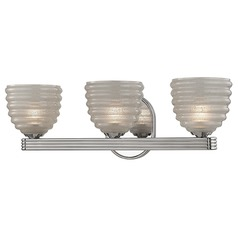 Thorton 3 Light Bathroom Light - Polished Nickel