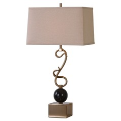 Uttermost Attila Coffee Bronze Table Lamp
