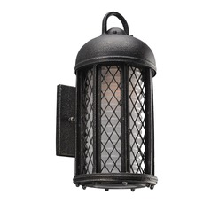 Troy Lighting Signal Hill Aged Silver LED Outdoor Wall Light