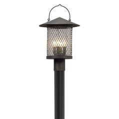 Troy Lighting Altamont French Iron LED Post Light