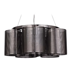 Craftmade Lighting Sircle Black Chrome Mini-Chandelier