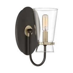 Industrial Sconce Bronze Midnight by Quoizel Lighting