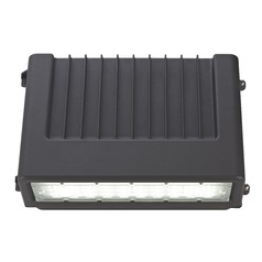 Bronze LED Wall Pack 60W 120-277v 7482LM 5000K 155x95 Degree Beam Spread