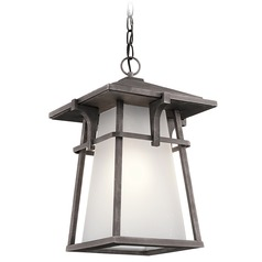 Kichler Lighting Beckett Weathered Zinc LED Outdoor Hanging Light