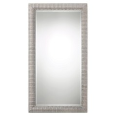 Uttermost Abenaki Ivory Grey Oversized Mirror