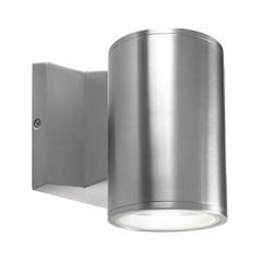 Modern Silver LED Outdoor Wall Light 3000K 780LM