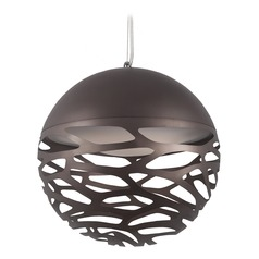 Kuzco Lighting Modern Bronze LED Pendant 3000K 900LM