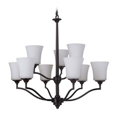 Craftmade Lighting Helena Oiled Bronze Chandelier
