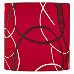 Red Drum Lamp Shade with Uno Assembly