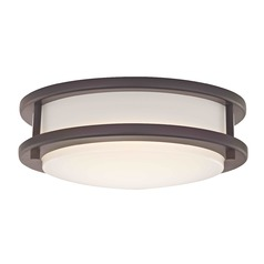 Design Classics Mee Royal Bronze LED Flushmount Light