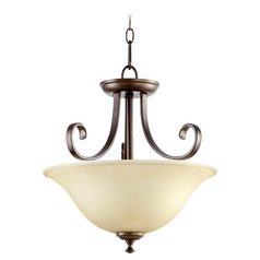 Quorum Lighting Celesta Oiled Bronze Pendant Light