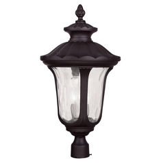 Livex Lighting Oxford Bronze Post Light