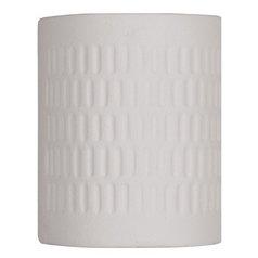 Livex Lighting Textured White Outdoor Wall Light