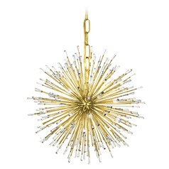 Mid-century modern Pendant Light Gold Vivaldo by Eglo Lighting