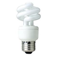 14-Watt Compact Fluorescent Light Bulb