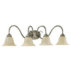 Quorum Lighting Spencer Mystic Silver Bathroom Light