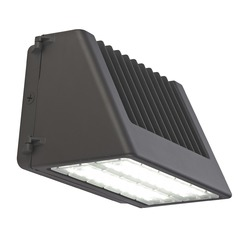 Bronze LED Wall Pack 100W 120-277v 13190LM 5000K 155x95 Degree Beam Spread