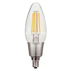 LED C11 Bulb Candelabra 360 Degree Beam Spread 2700K 120V - 25-Watt Equivalent Dimmable