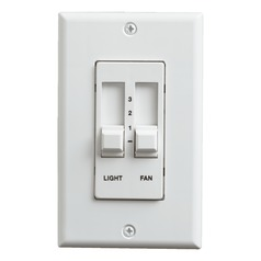 Quorum Lighting White Fan Control